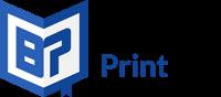 bachelor print logo